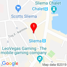 Google Map of Sliema Office
